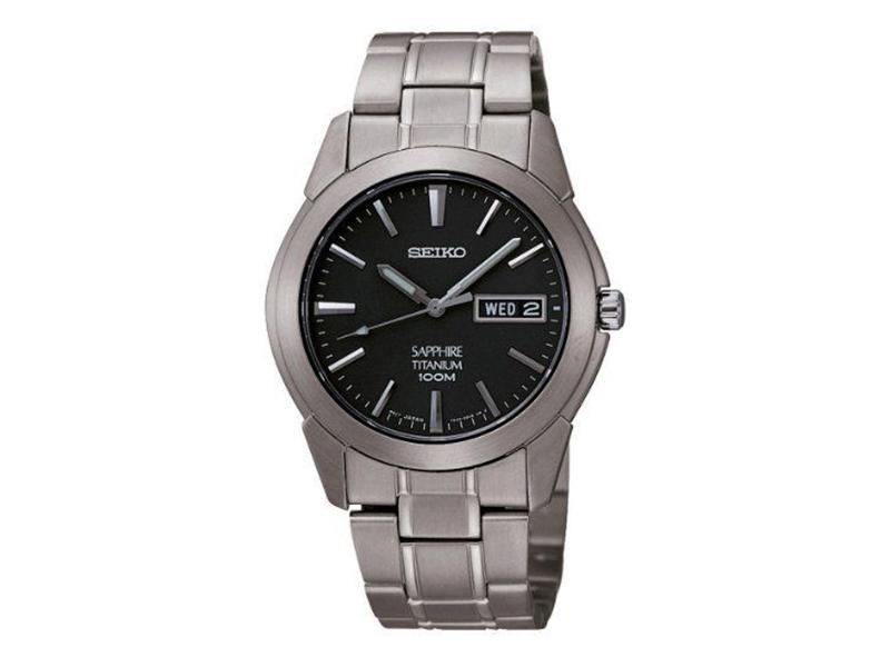 Seiko Sapphire Titanium Watch