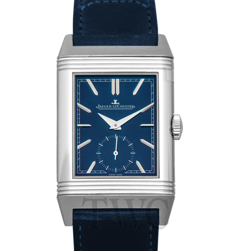 JLC Reverso Tribute Small Seconds (Navy Blue)