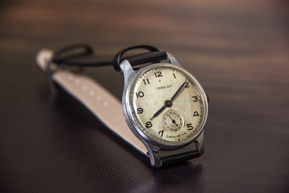 Pobeda Mechanical Watch, Russian Watches