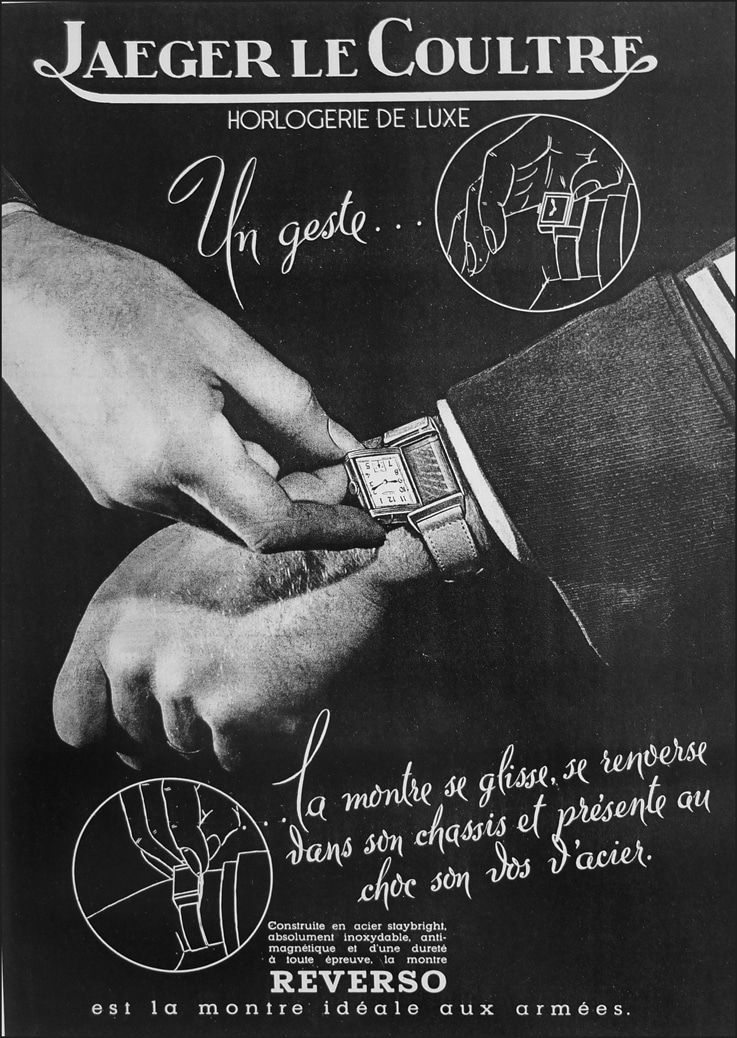 Reverso vintage ad