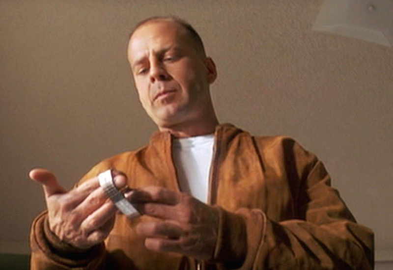 Butch Coolidge Bruce Willis Pulp Fiction Gold Watch