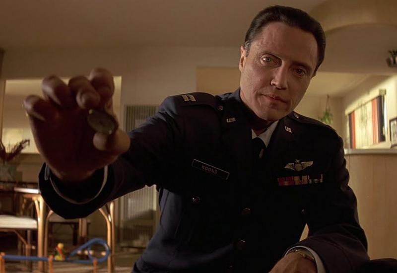 Captain Koon Christopher Walken Pulp Fiction Gold Watch