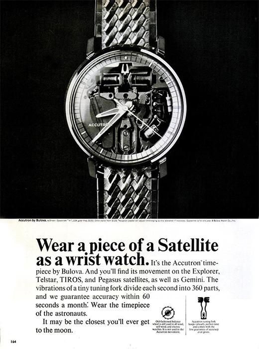 Bulova Accutron Vintage Ad