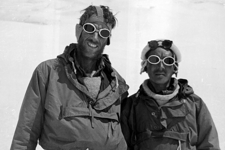 Sir Edmund Hillary and Tenzing Norgay at Mount Everest, 1953 History of Rolex Explorer II