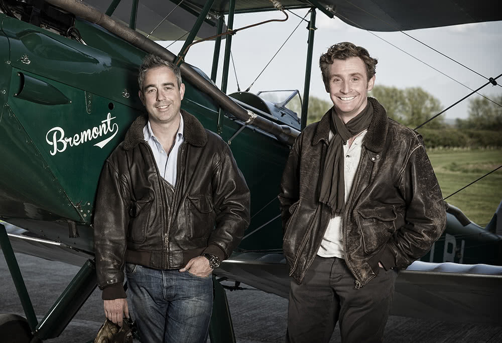Nick and Giles English, founders of Bremont Watch Company