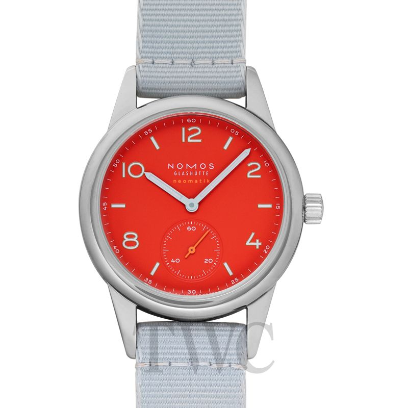 Nomos Club Neomatik Siren Red