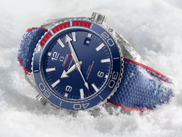 2018 Pyeongchang Winter Olympics Limited Edition Seamaster Planet Ocean