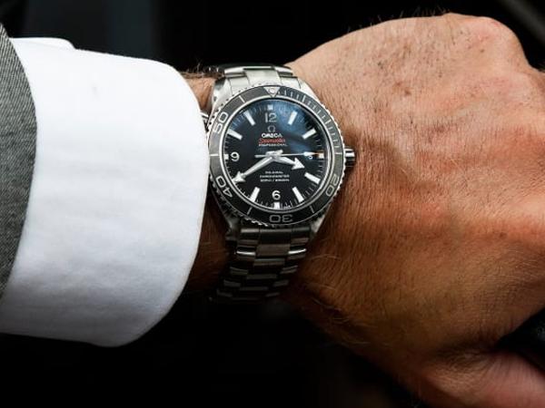 Omega Seamaster Planet Ocean James Bond