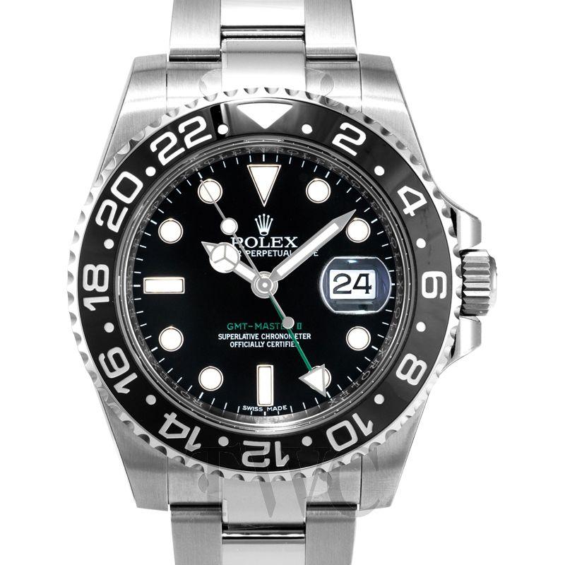 Rolex GMT Master II, Mercedes watch hands
