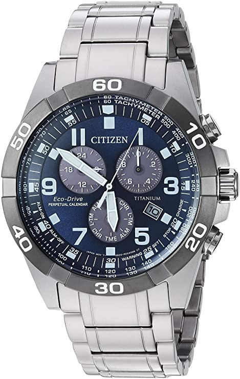 Citizen Watches Eco-Drive Titanium Strap Casual Watch
